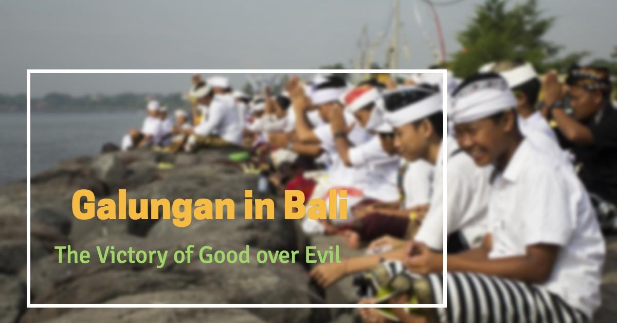 Galungan in Bali