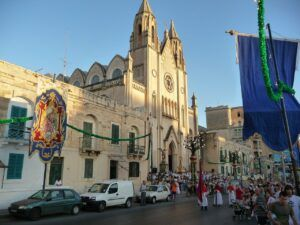 Feast in Sliema Malta - where is malta