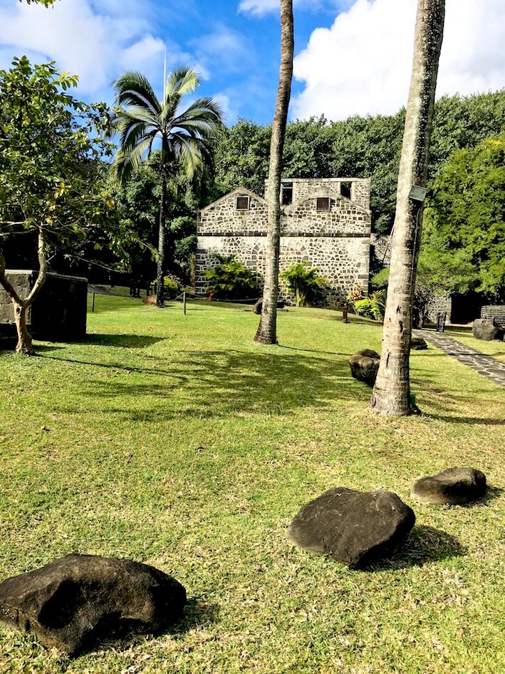 Balaclava rum winery ruins
