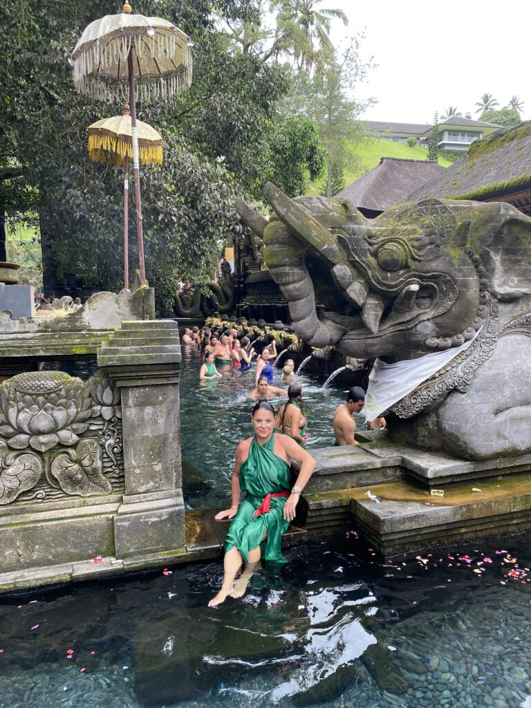 A spiritual day in Bali Entering the Waters of Tirta Empul