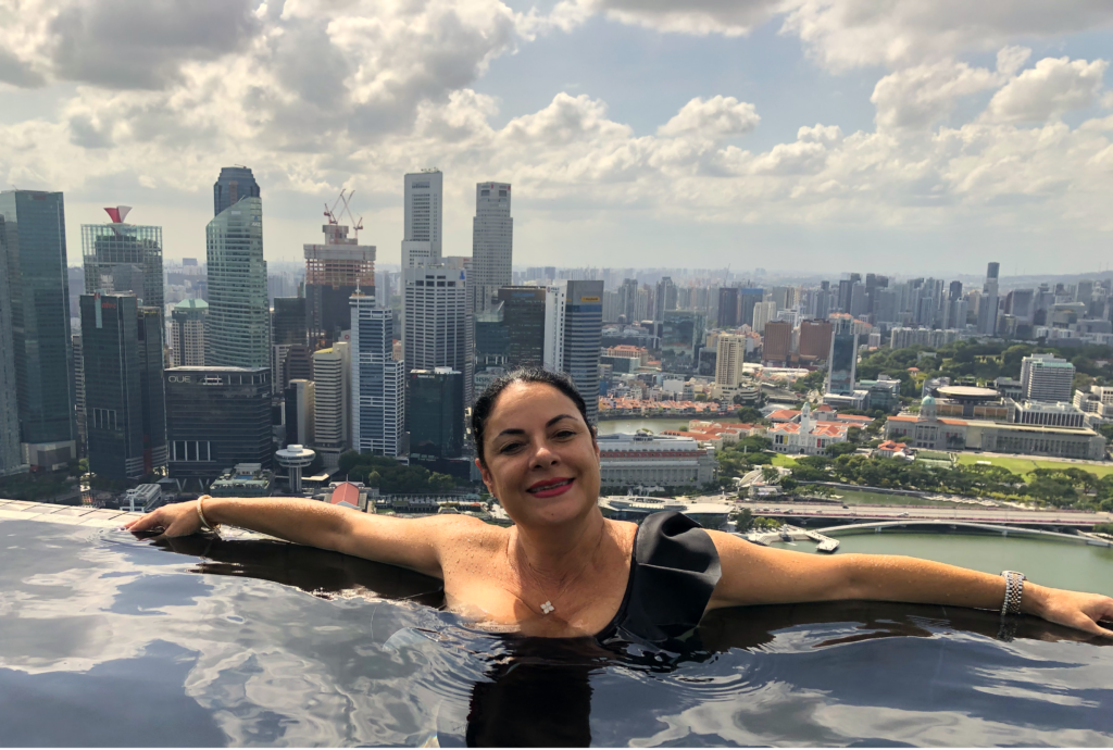 The Marina Bay sands infinity pool experience - 24hrs in Singapore