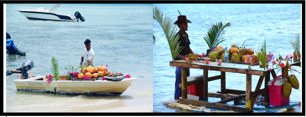 Peddlers selling fruit