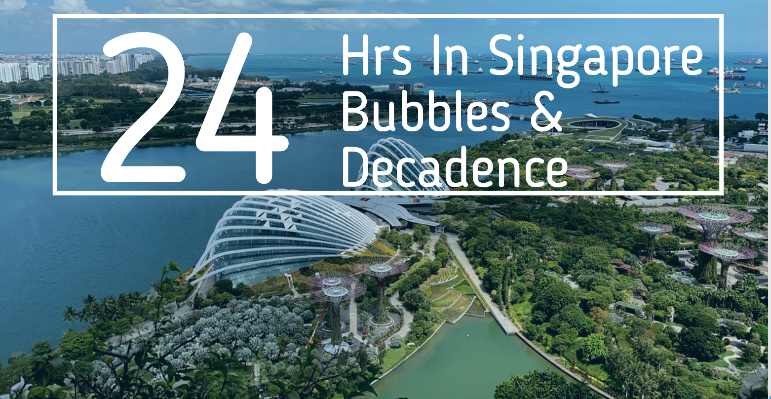 24 hrs in Singapore