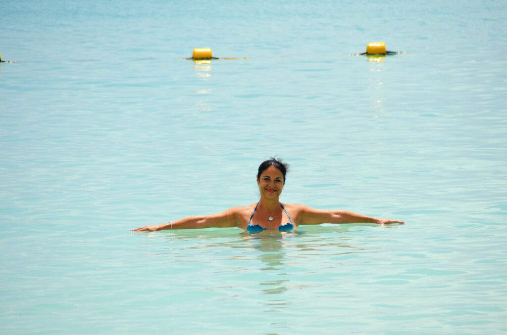 Crystal waters of north Mauritius