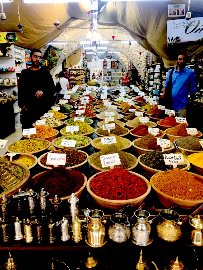 Spices in Jerusalem